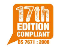 17th Edition Compliant